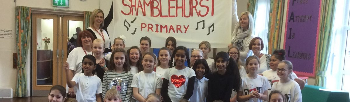 Shamblehurst Raises the Roof at the O2!