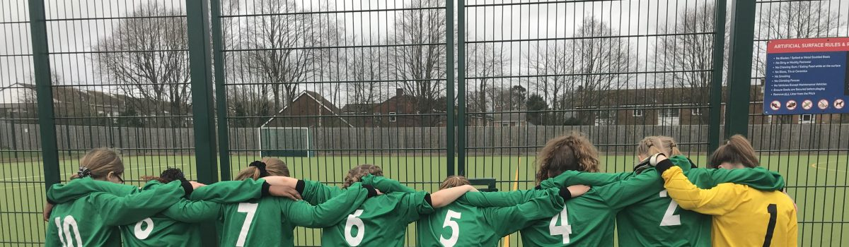 Girls Football Match – Tuesday 10th March 2020